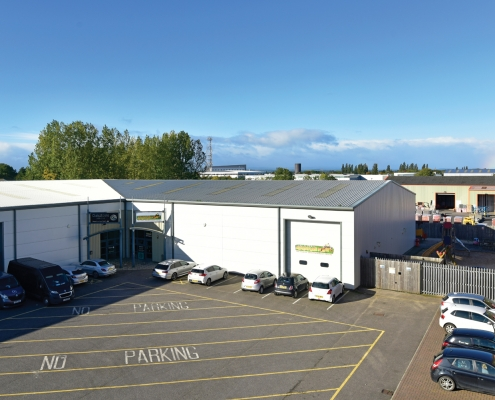 10,720 sq ft Leisure Letting to Roarsome Play Centre, Darlington