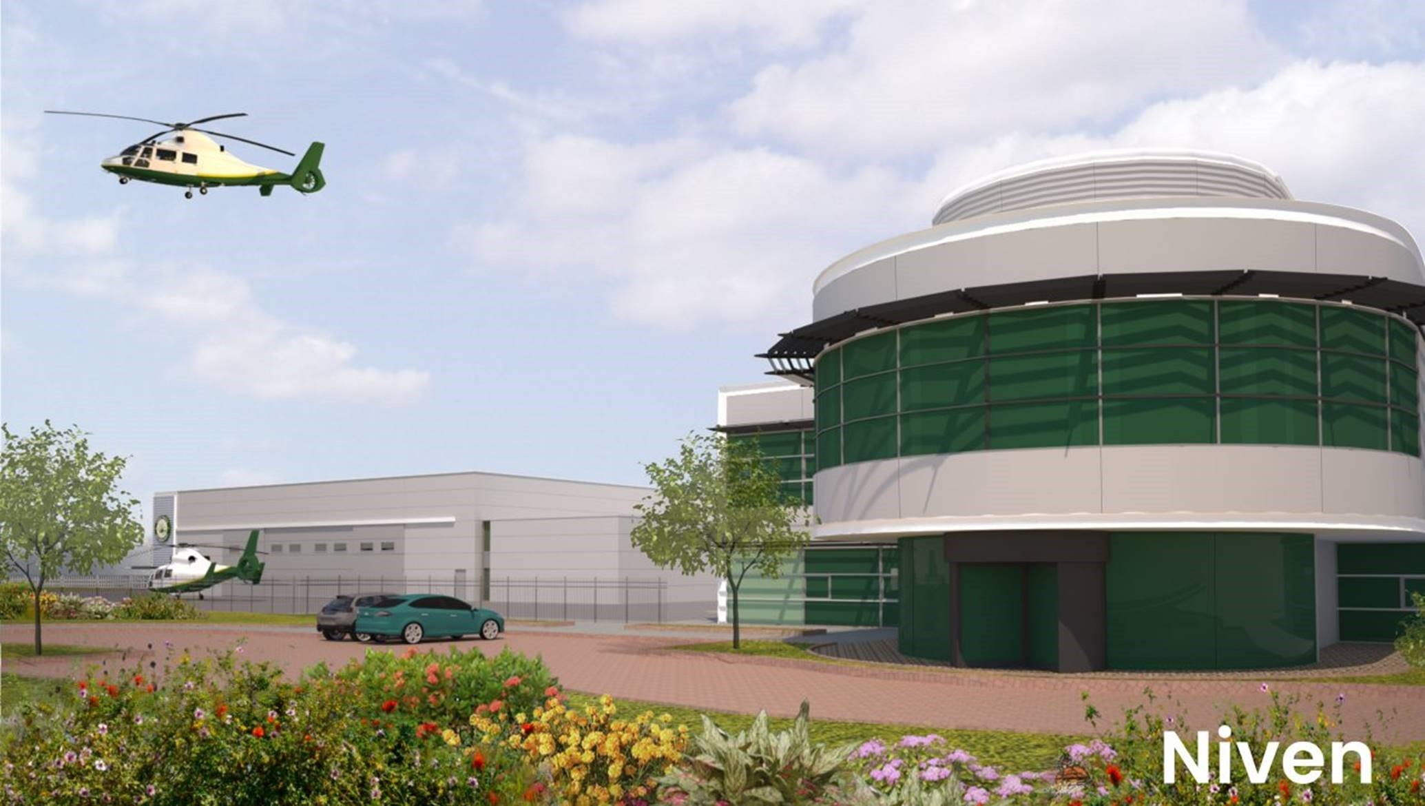 Great North Air Ambulance, new headquarters, CPNE