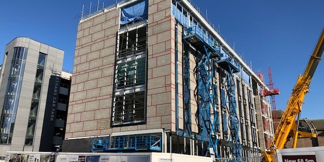 Feethams - Take a selfie at the top of Darlingtons new office building