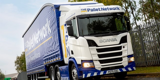 The Pallet Network Drive into Ross Road, Stockton